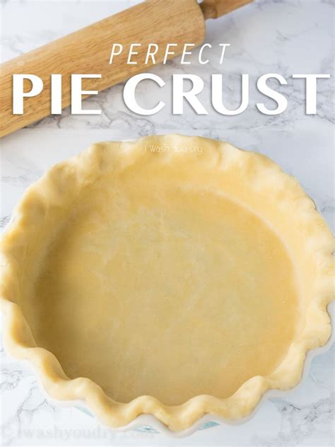 Use a pie crust bag. Perfect Pie Crust - I Wash... You Dry