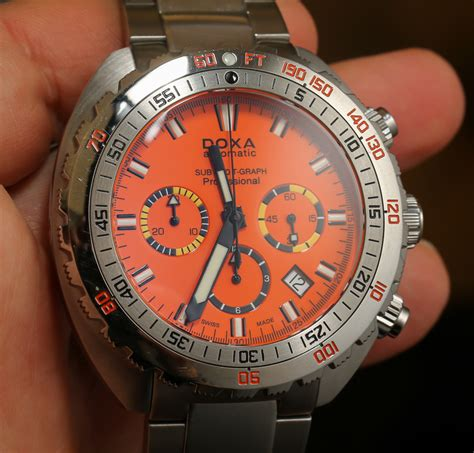 doxa   graph chronograph watches hands  page    ablogtowatch