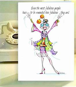 Funny Woman Birthday Cards Funny Birthday card Women
