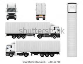Semi Truck Template