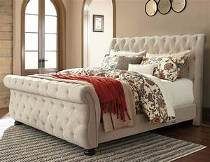 Willenburg Queen Upholstered Sleigh Bed By Signature