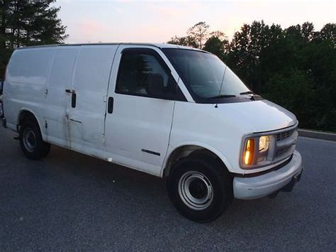 manual cars for sale 1999 chevrolet express 3500 regenerative braking find used 1999 chevy express 3500 van cargo low miles runs and drives strong in baltimore