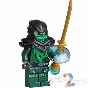 Lego Ninjago Evil Green Ninja Lloyd Minifigure From 70732