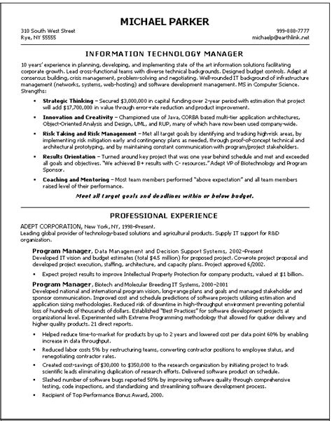 information technology sales manager resume information technology manager cover letter information technology information technology