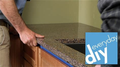 install  kitchen countertop buildipedia diy