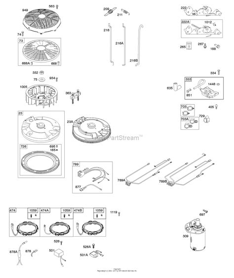 briggs and stratton 40r777 0019 b1 parts diagram for flywheel controls wire harness