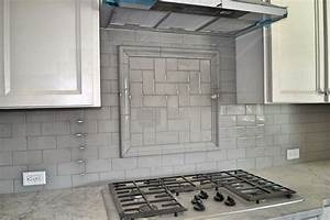 gray backsplash home design With kitchen colors with white cabinets with sticker inspection texas