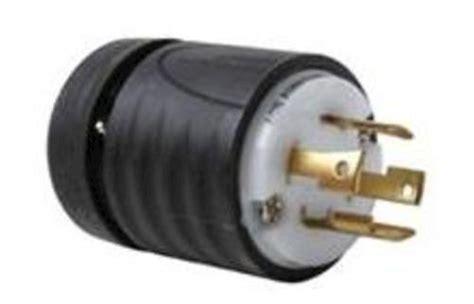 Legrand Turnlok® Black/white 30-amp 3-phase Y 277/480-volt
