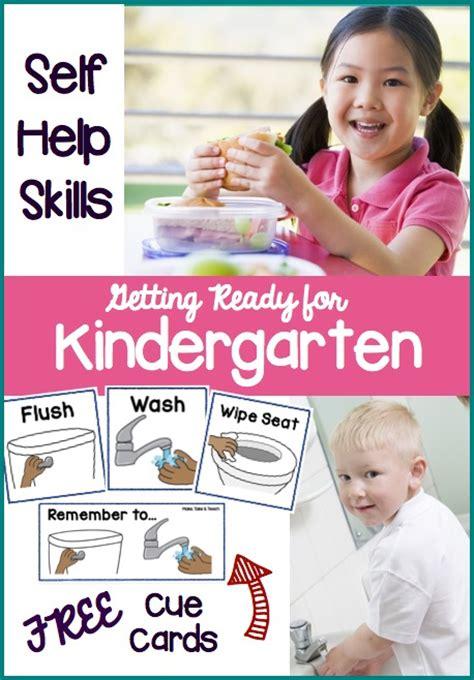 getting ready for kindergarten self help skills make 971 | GRfK Self Helpborder
