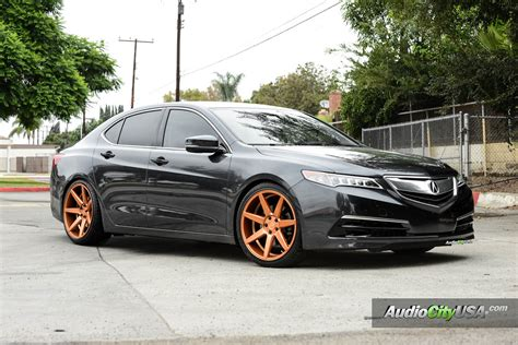 2015 acura tlx on 20 quot rennen crl 70 custom painted lowered