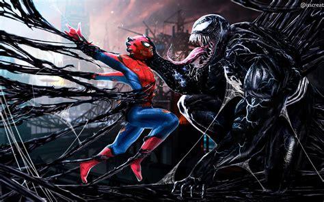 3840x2400 Spiderman Vs Venom Digital Art 4k Hd 4k