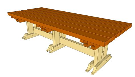plans for a wooden bench woodworking projects
