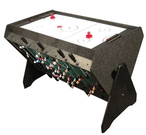 foosball air hockey combo table 3 in 1 rotating table foosball pool and air hockey