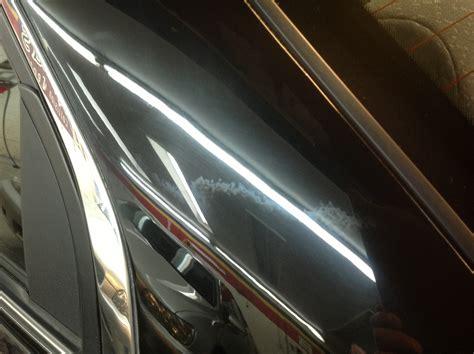 c pillar photos give auto shops visual case against blending clearcoat paint repairer