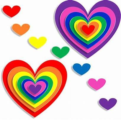 Hearts Valentine 3d Pixabay February Romance Corazones