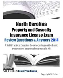 Quizzes › business › finance › insurance › property and casualty insurance license. North Carolina Property and Casualty Insurance License Exam Review Questions & Answers 2014: A ...