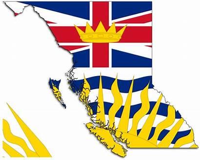 British Columbia Flag Svg Map Pixels Canada