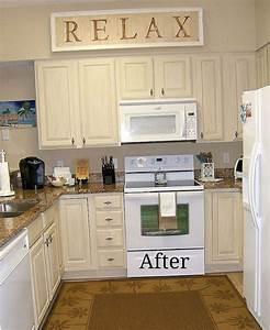 Kitchen Cabinet Remake -Pickled to Beachy Hometalk