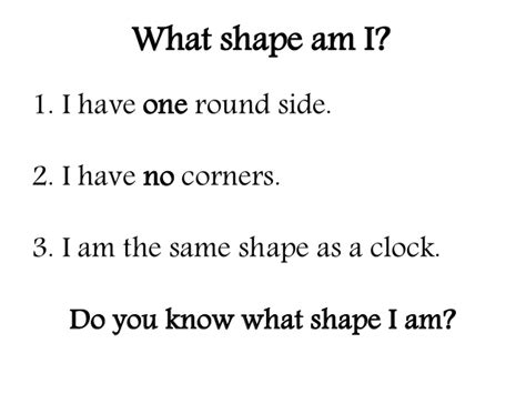 2d shape who am i