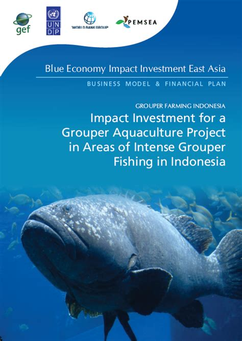 grouper aquaculture intense investment indonesia impact areas fishing project copy pdf