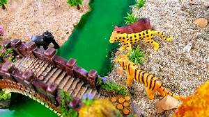 learn safari zoo animals in sand with