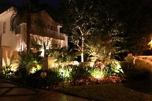 Custom outdoor lighting low voltage landscape