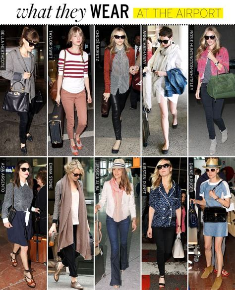 What They Wear Airports - Celebrity Style and Fashion from WhoWhatWear | style on the fly ...