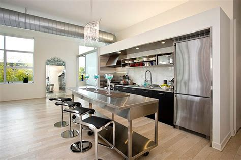 one wall kitchen with island the best 24 ideas of one wall kitchen layout and design