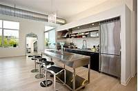 one wall kitchen The Best 24 Ideas of One Wall Kitchen Layout and Design