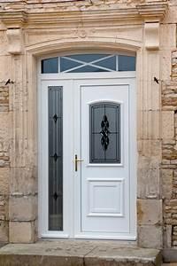 Porte D Entrée Blanche : nos portes d 39 entr e pvc ~ Melissatoandfro.com Idées de Décoration