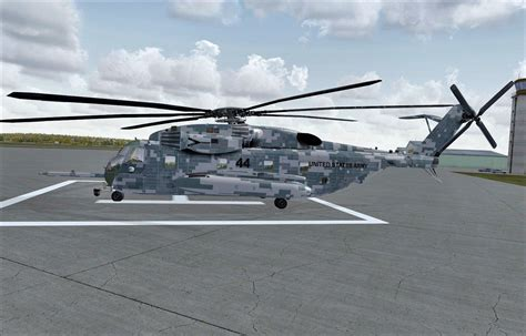 US Army Sikorsky CH-53e for FSX