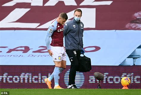 Aston Villa midfielder Ross Barkley forced off with just ...