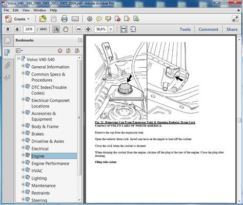 small engine repair manuals free download 2003 volvo c70 instrument cluster volvo v40 s40 2000 2001 2002 2003 2004 repair manual servicemanualspdf