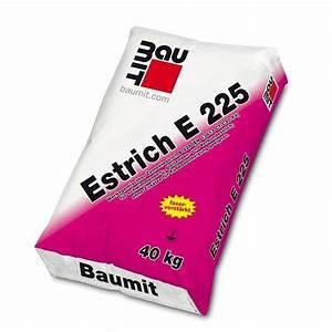 Estrich Beton 40 Kg Preis : estrich e225 baumit sack 40kg ~ Michelbontemps.com Haus und Dekorationen