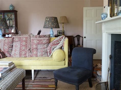 Farrow & Ball's Setting Plaster Sitting Room - Interiors
