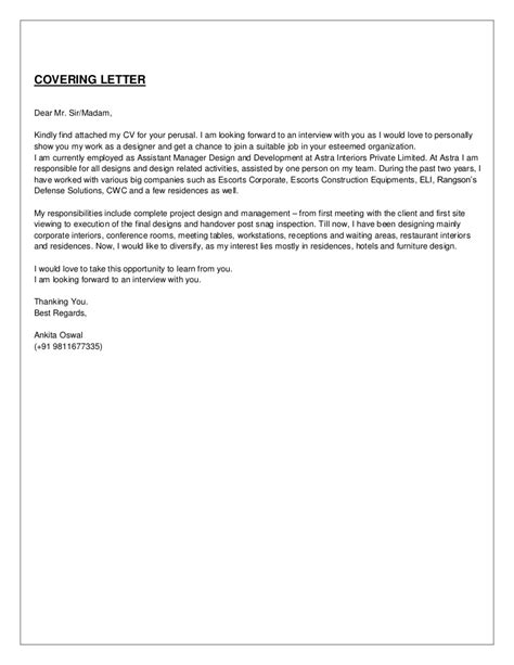 cover letter find attached resume cover letter