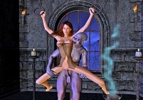 Busty Girl Turned Into Vampire Lords Sex Slave