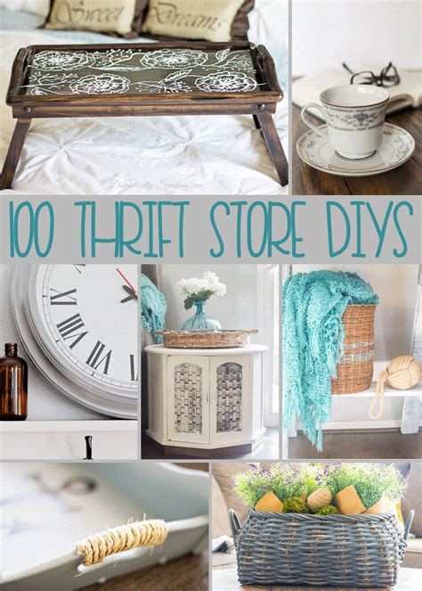 100 thrift store diy projects domestically speaking