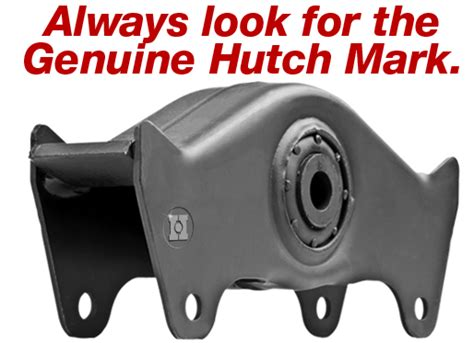 Genuine Hutch Heavy-duty Replacement Parts And Components
