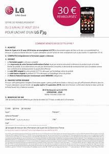 Offre De Remboursement : offre de remboursement odr free mobile 30 sur ~ Carolinahurricanesstore.com Idées de Décoration