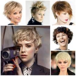 2017 Hairstyle Short Shag Haircuts