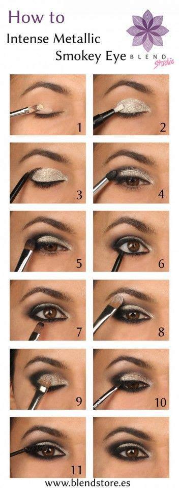 smokey eye makeup tutorial step  step ideas