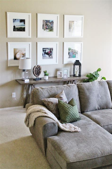 extensive white decorating table for living room decor ikea picture frame gallery wall