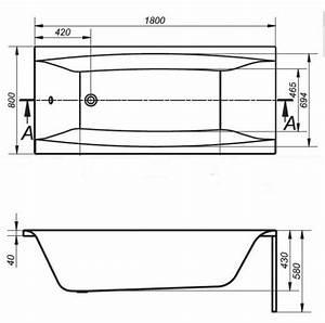 Badewanne 180x80 Mit Wannenträger : badewanne acryl wannentr ger 140 150 160 170x75 180x80 ~ Lizthompson.info Haus und Dekorationen