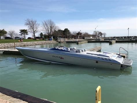 Donzi Boat Gear by 2007 Donzi 43 Zr Powerboat For Sale In New York
