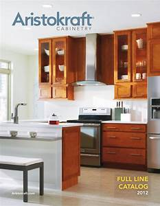aristokraft full line cabinetry brochure by russell nadler With best brand of paint for kitchen cabinets with sticker printing company