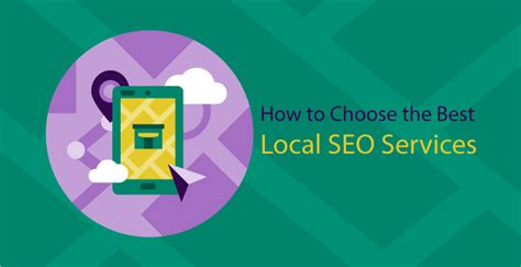 Local Seo Services - how to choose the best local seo services