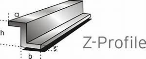 Edelstahl T Profil : aluminium z profile almgsi05 aus aluminium und edelstahl ~ Frokenaadalensverden.com Haus und Dekorationen