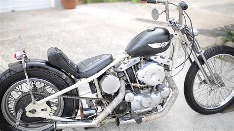 1974 Harley Davidson 1000 Ironhead Rigid Sportster Chopper