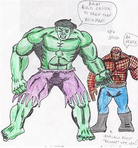 Hulk Am Easy To Draw by Skaramine on DeviantArt